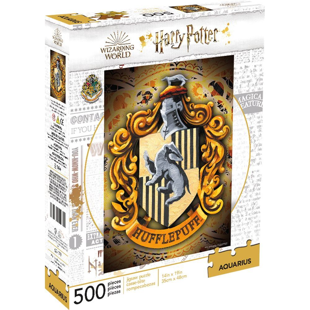 Best Harry Potter Hufflepuff 500pc Puzzle You Can Buy
