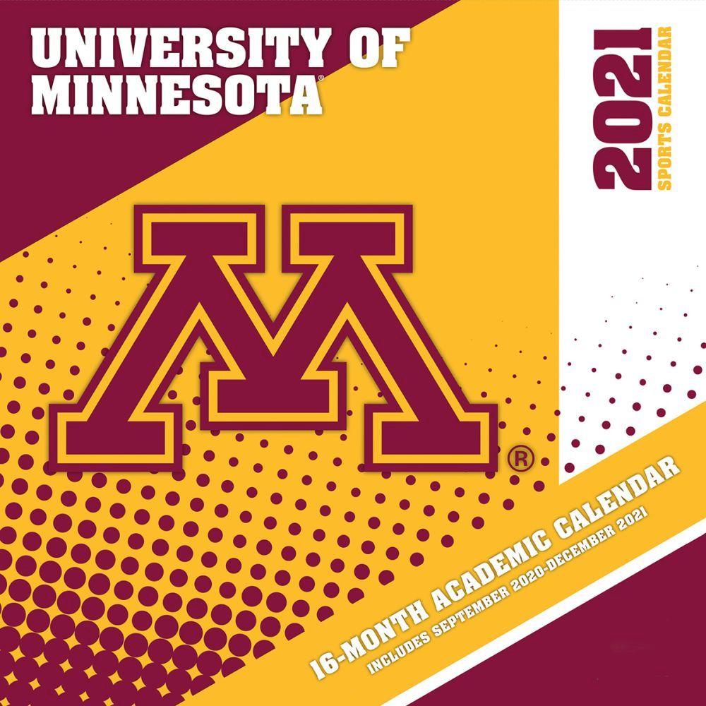 Minnesota Golden Gophers 2021 Wall Calendar