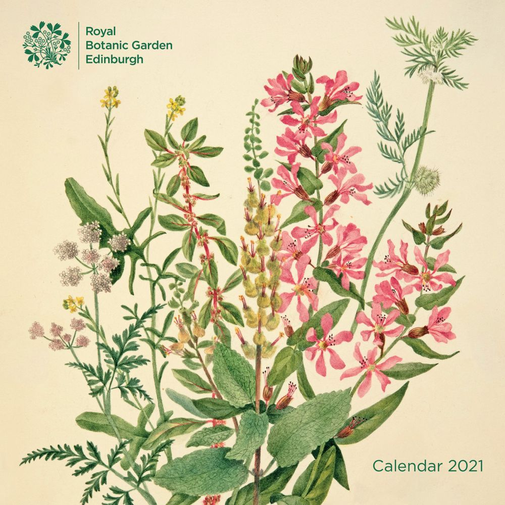 2021 Royal Botanic Gardens Edinburgh Wall Calendar