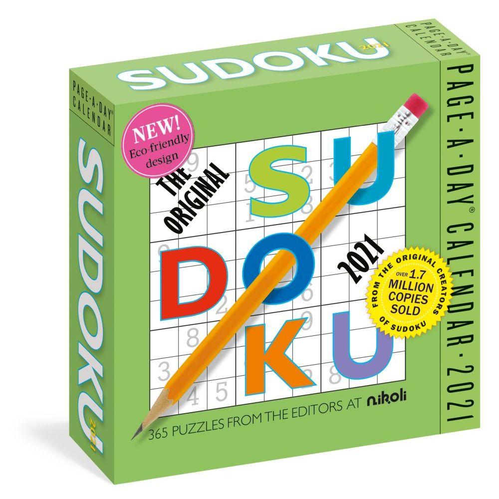 The Original Sudoku 2021 Desk Calendar