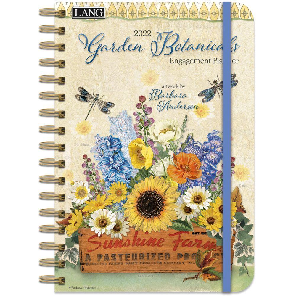 Garden Botanicals 2022 Spiral Engagement Planner