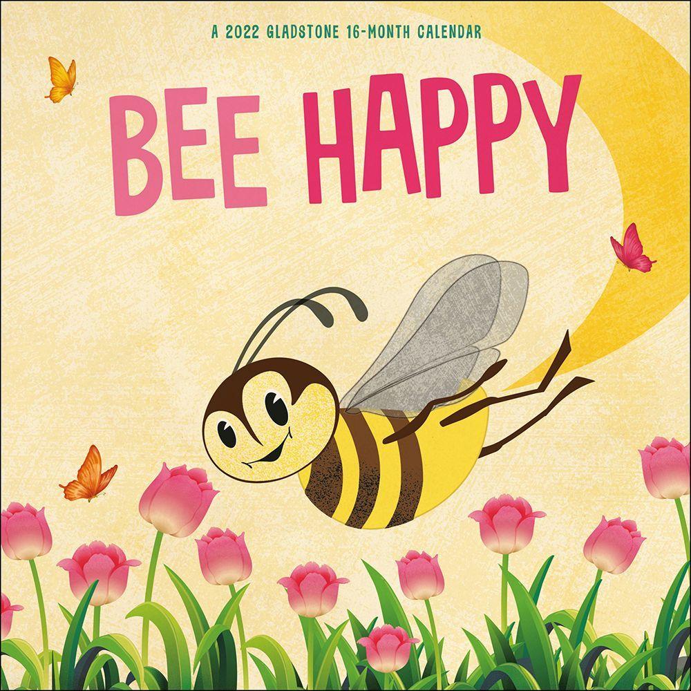 Bee Happy 2022 Wall Calendar