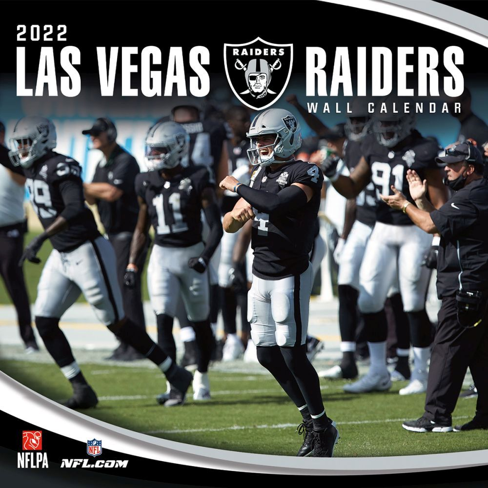 Las Vegas Raiders 2022 Wall Calendar