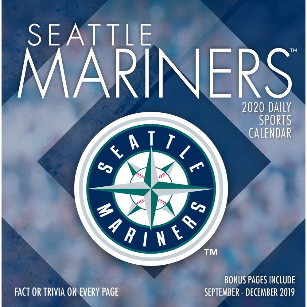 Seattle Mariners 2021 Desk Calendar