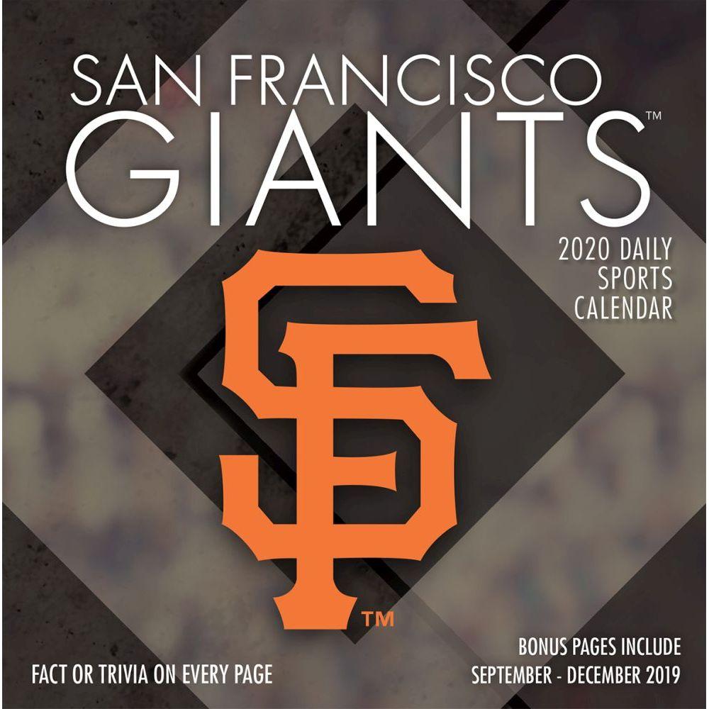 San Francisco Giants 2021 Desk Calendar