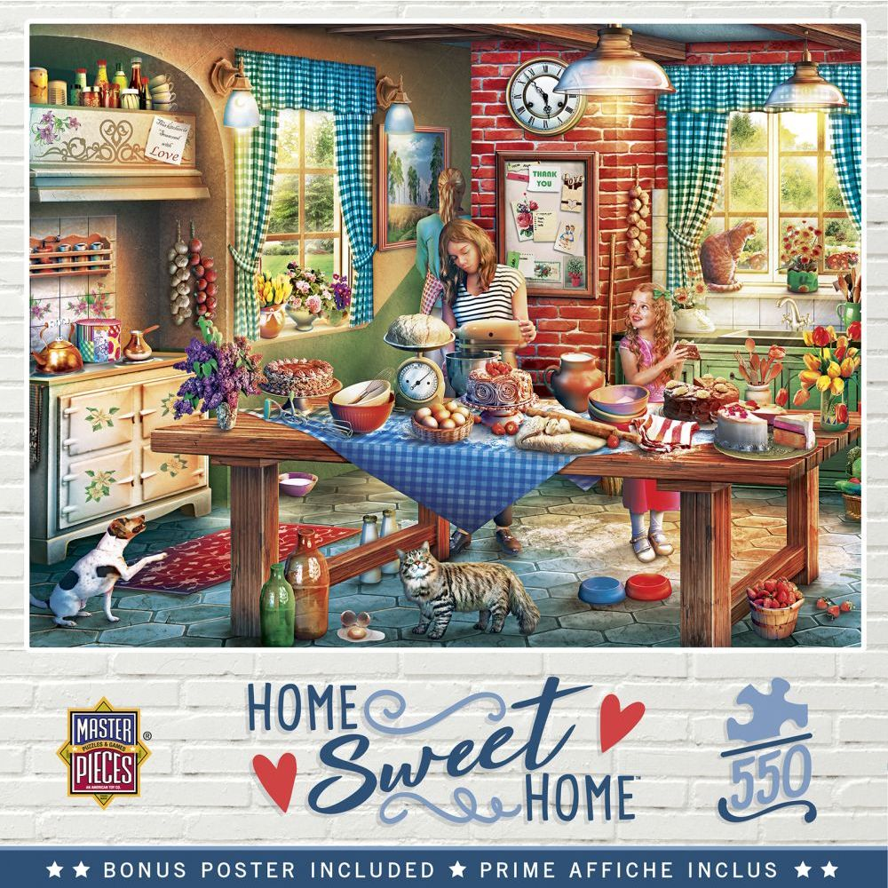 Best Baking Bread 550pc Puzzle You Can Buy