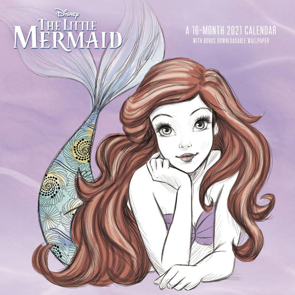 The Little Mermaid 30th Wall Calendar