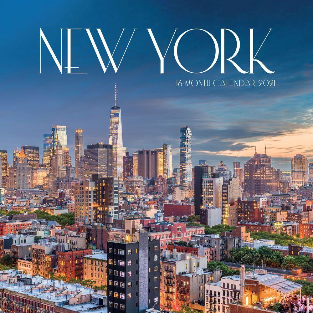 New York 2021 Wall Calendar