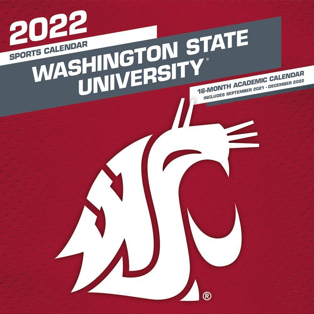 Washington State University Cougars 2022 Wall Calendar