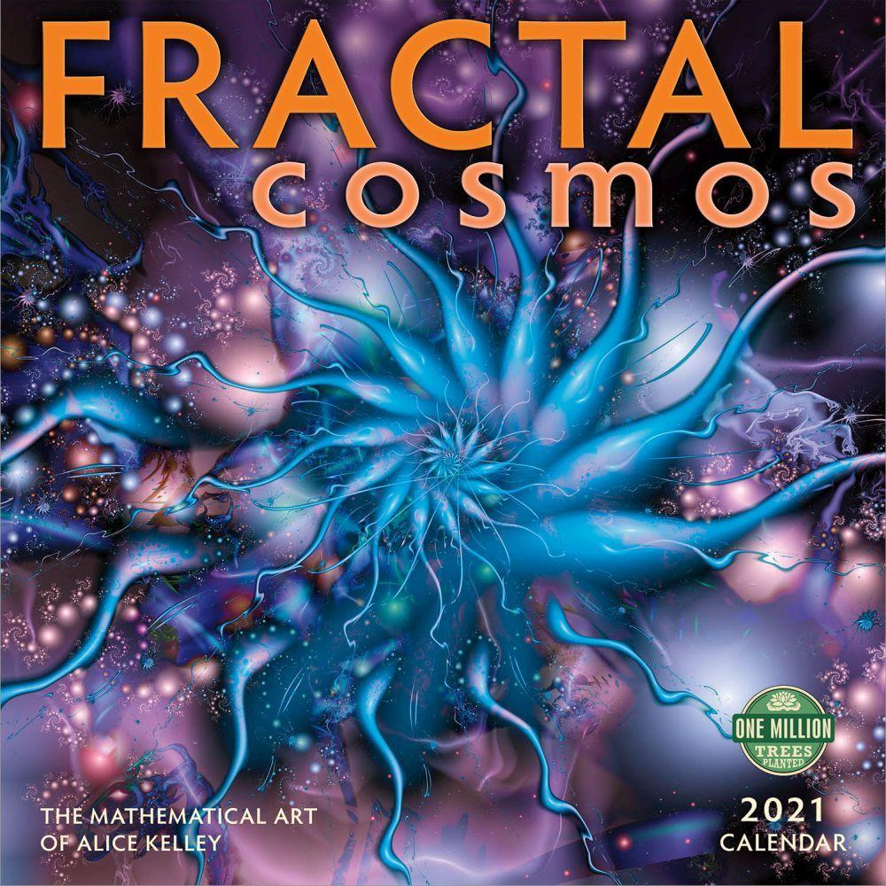 Fractals 2021 Wall Calendar