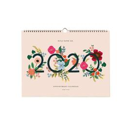 Wild Rose Appointment Wall Calendar