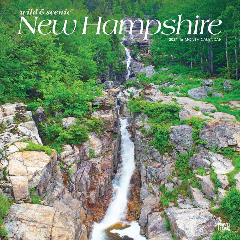 New Hampshire Wild & Scenic 2021 Wall Calendar