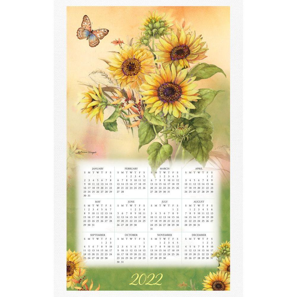 Nature's Palette 2022 Calendar Towel