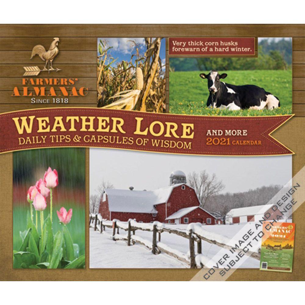 2021 Farmers Almanac Desk Calendar