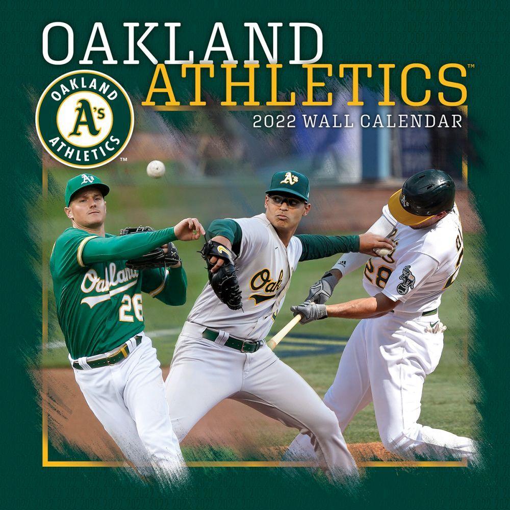 Oakland Athletics 2022 Wall Calendar