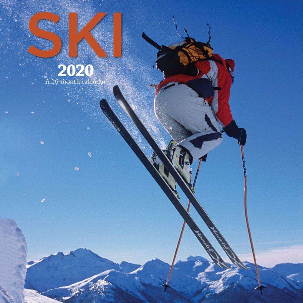 Ski 2021 Wall Calendar