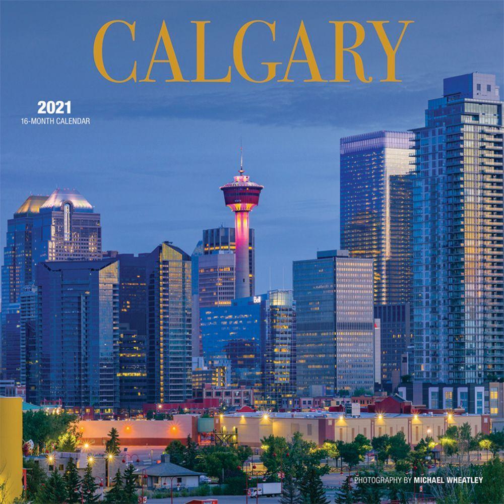 2021 Calgary Wall Calendar