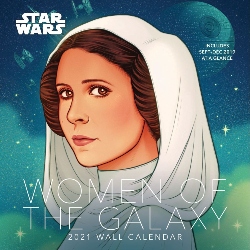 2021 Star Wars Women of Galaxy Wall Calendar