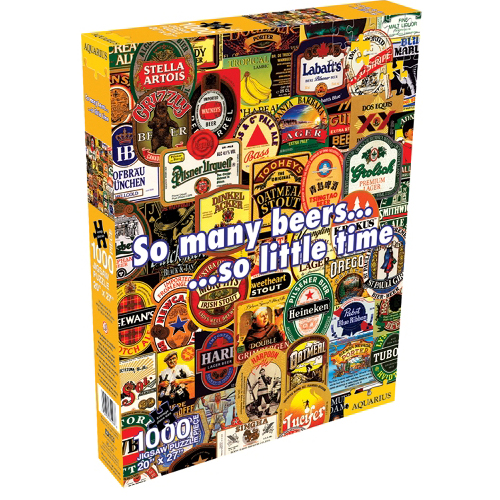 Best So Many Beers 1000 Piece Puzzle You Can Buy