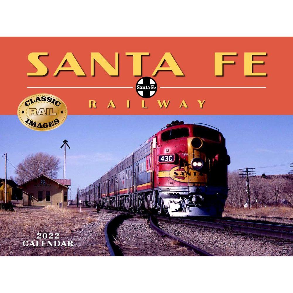 Trains Sante Fe Railroad 2022 Wall Calendar