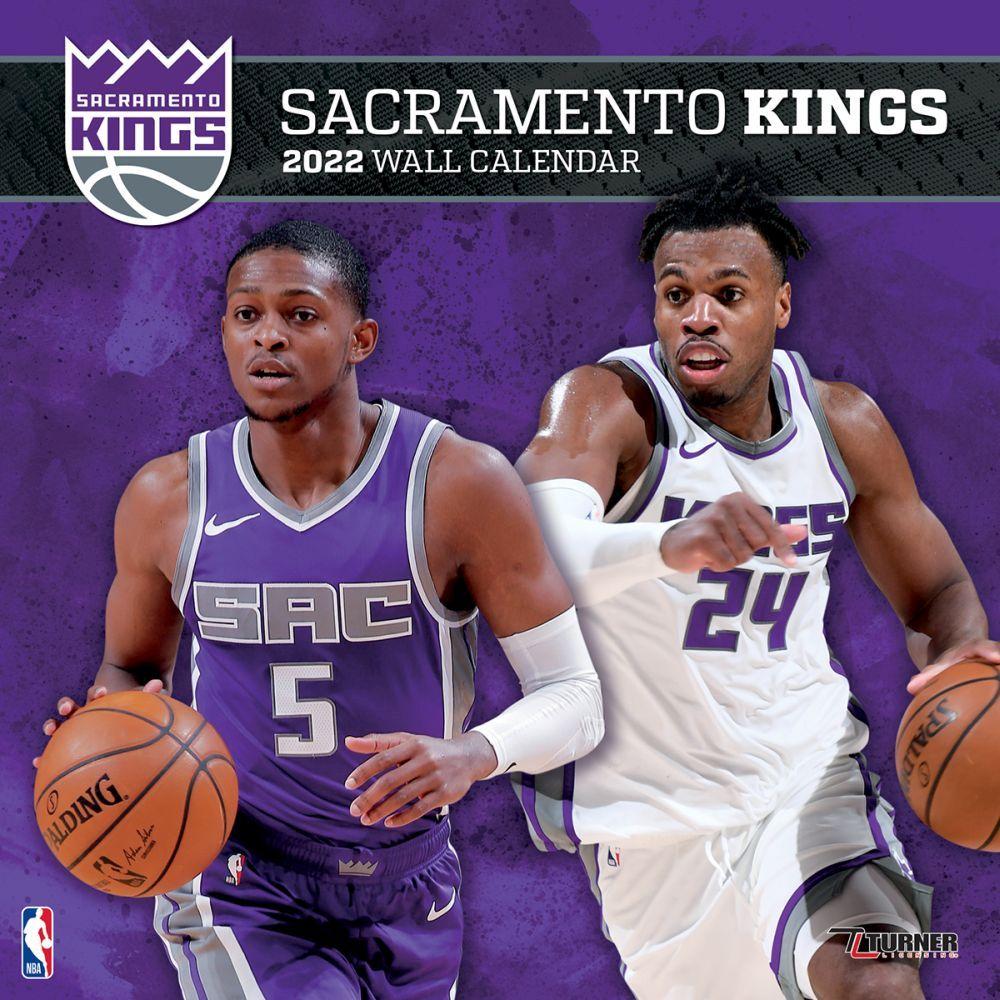 Sacramento Kings 2022 Wall Calendar