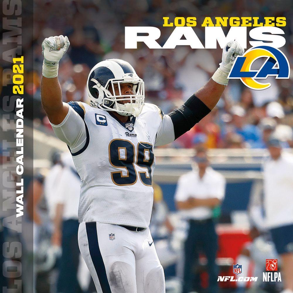 Los Angeles Rams 2020 Wall Calendar