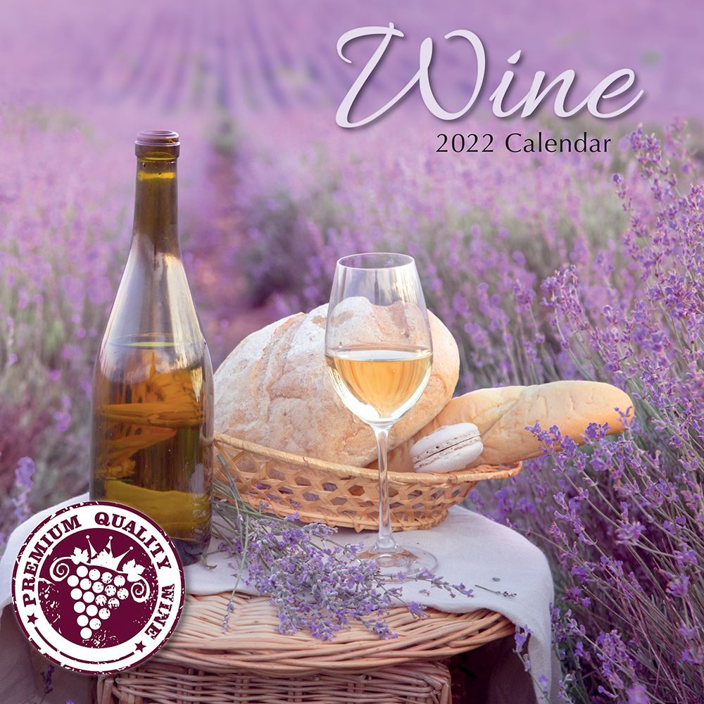 Wine 2022 Wall Calendar