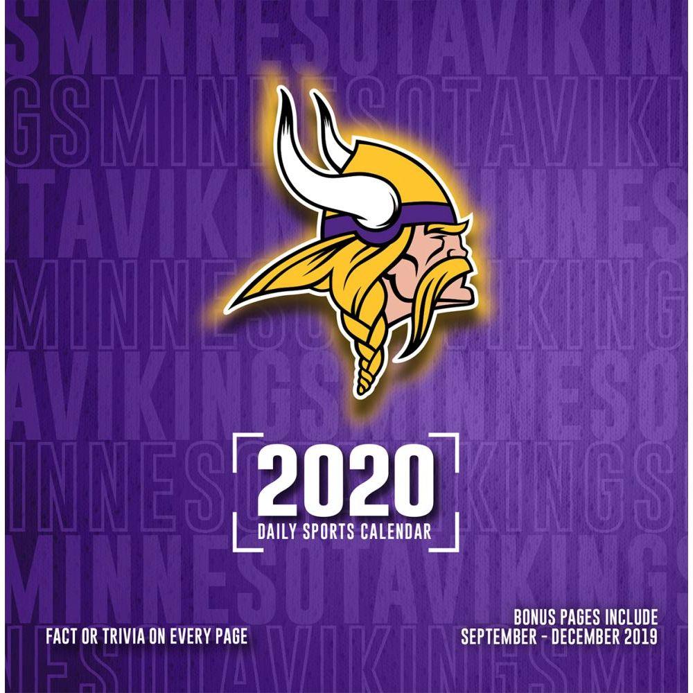Minnesota Vikings 2021 Desk Calendar