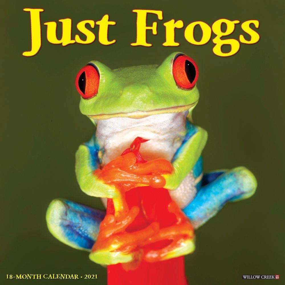 Frogs 2021 Wall Calendar