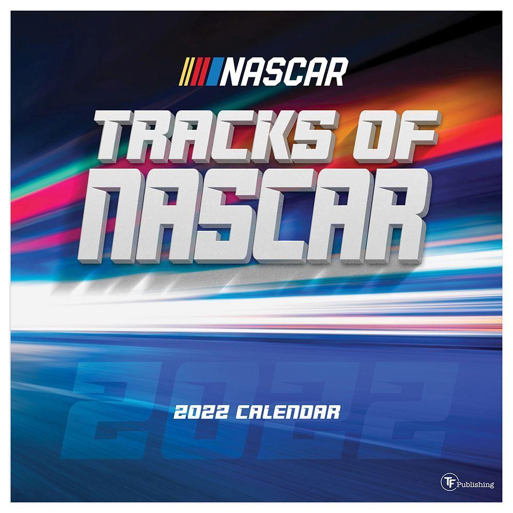 Tracks of NASCAR 2022 Wall Calendar
