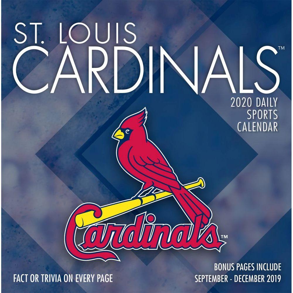 St. Louis Cardinals 2021 Desk Calendar