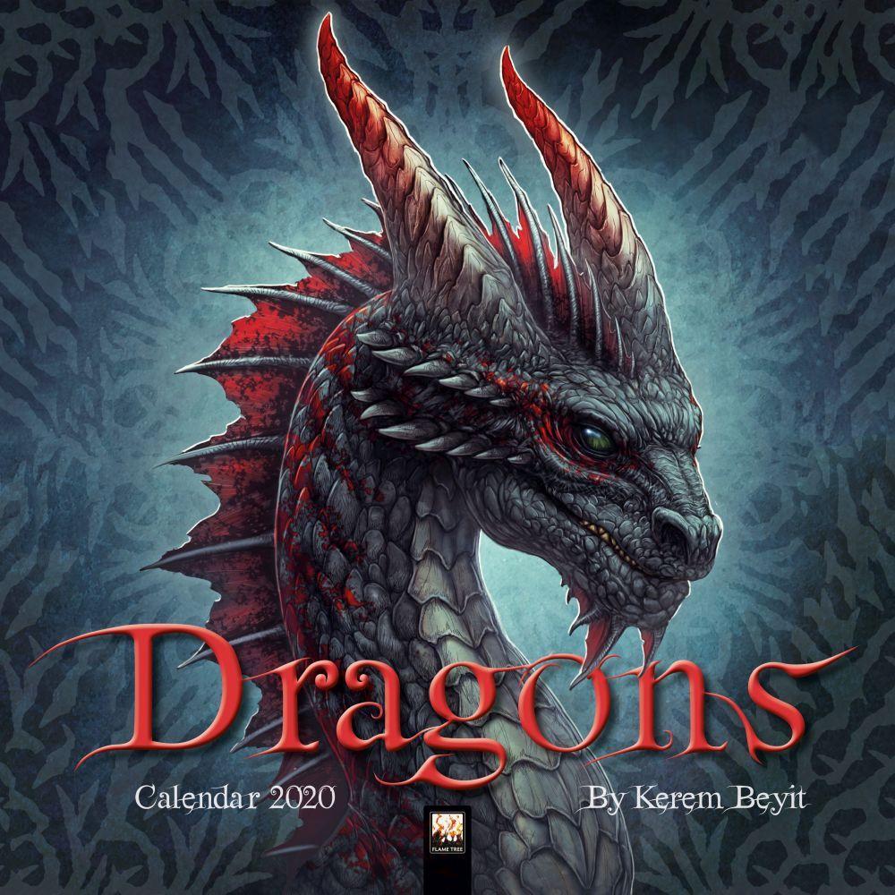 Dragon Calendar 2021 Dragons   2021 Dragon Calendars