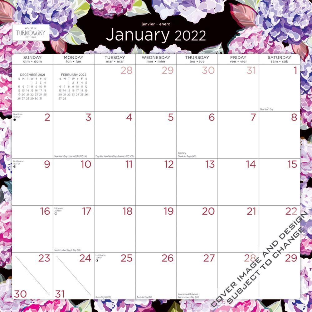 House of Turnowsky 2022 Wall Calendar