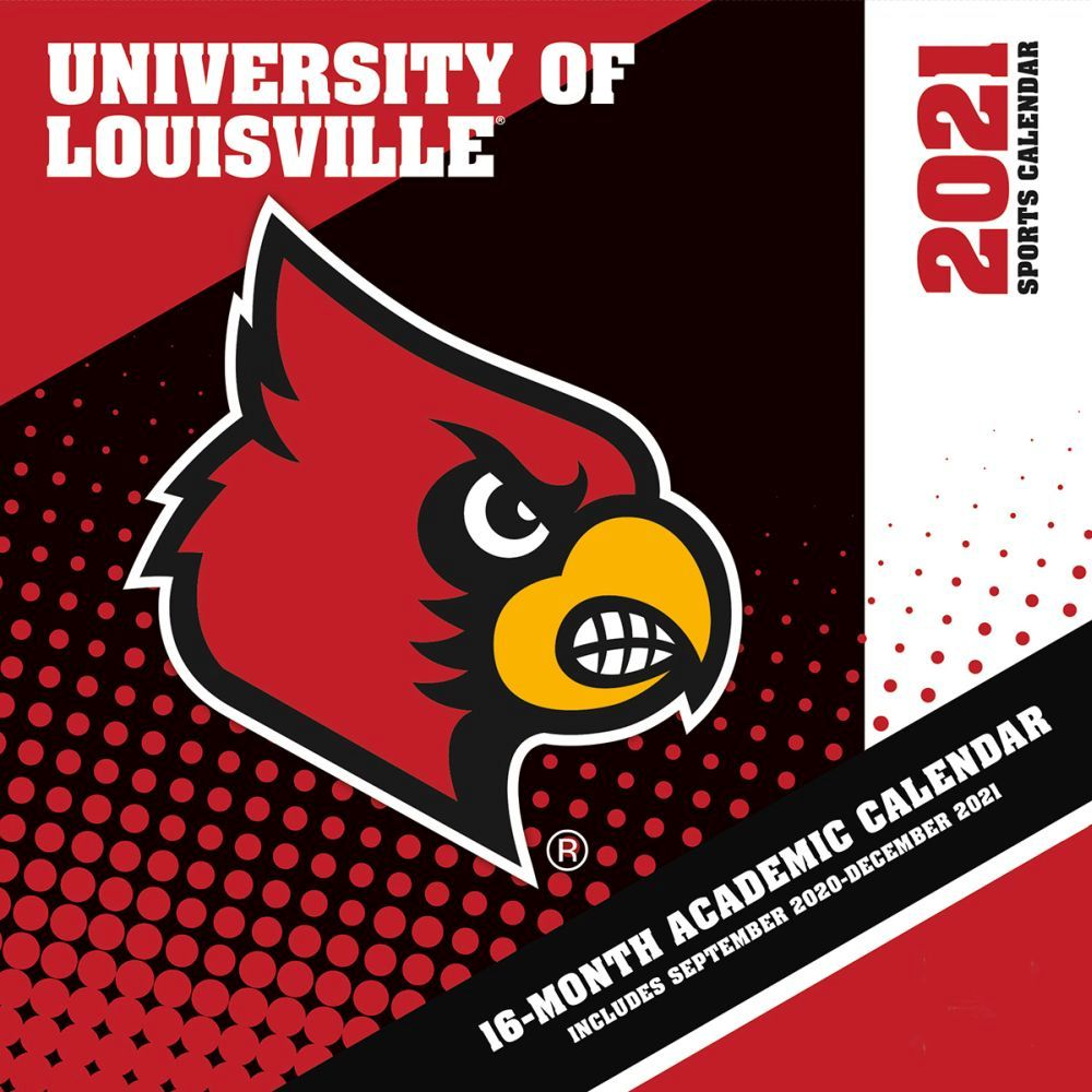 U Of L Academic Calendar 2021 Louisville Cardinals Wall Calendar   Calendars.com