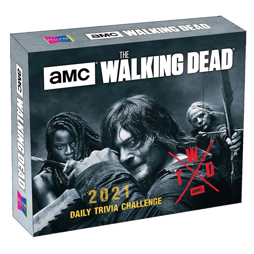 Walking Dead Trivia 2021 Desk Calendar