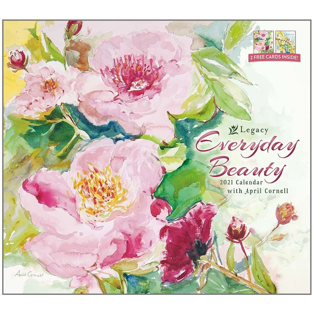 2021 Everyday Beauty Wall Calendar
