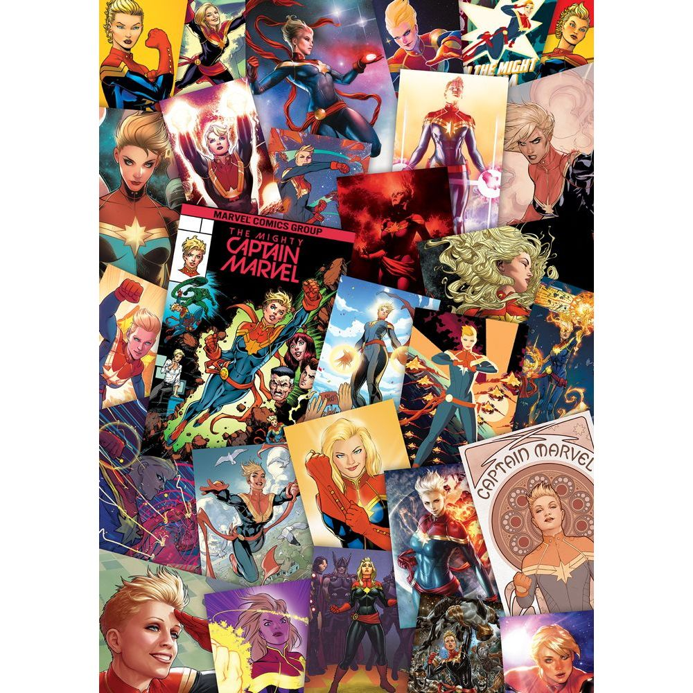 Best Captain Marvel Slim 1000pc Puzzle You Can Buy