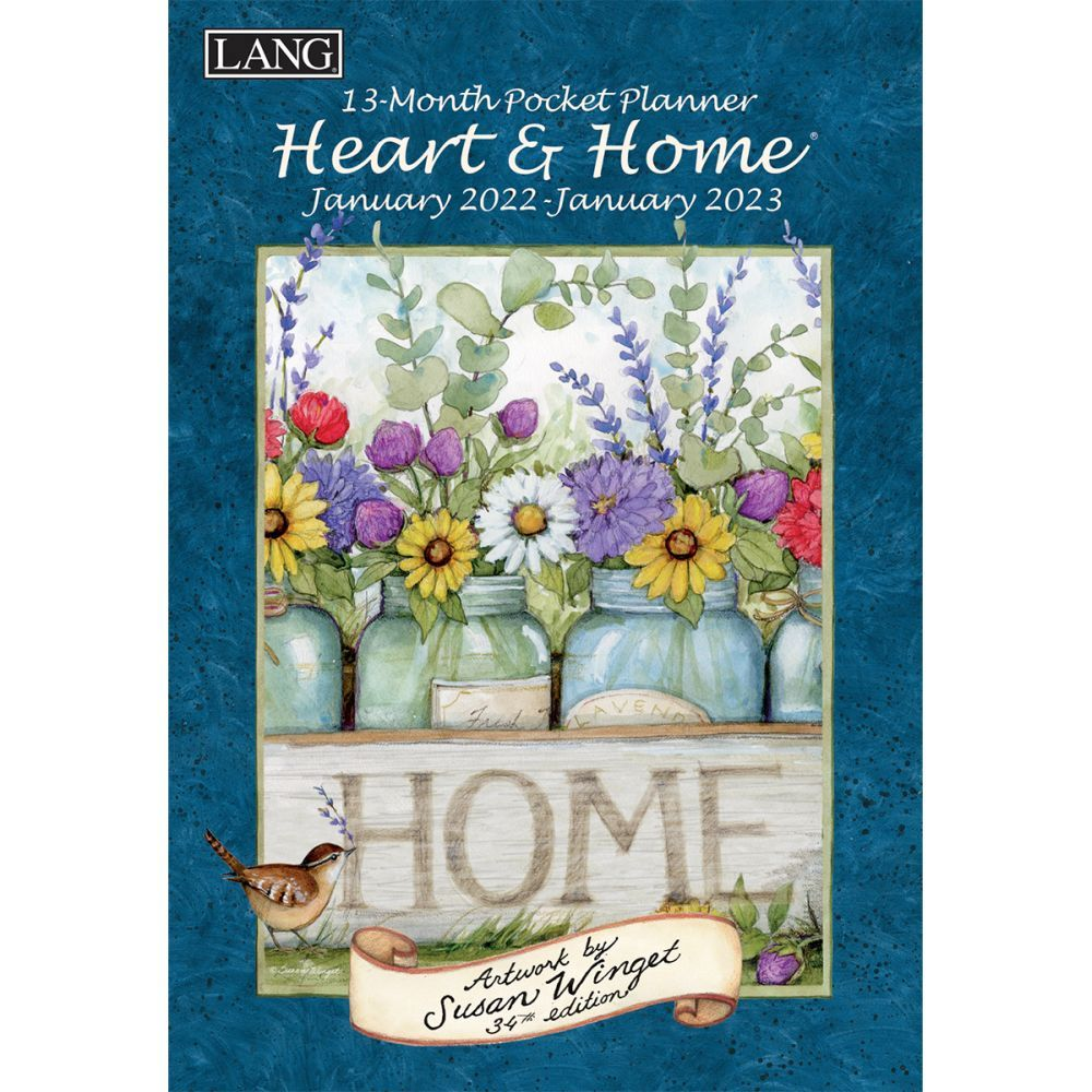 Heart and Home Monthly 2022 Pocket Planner