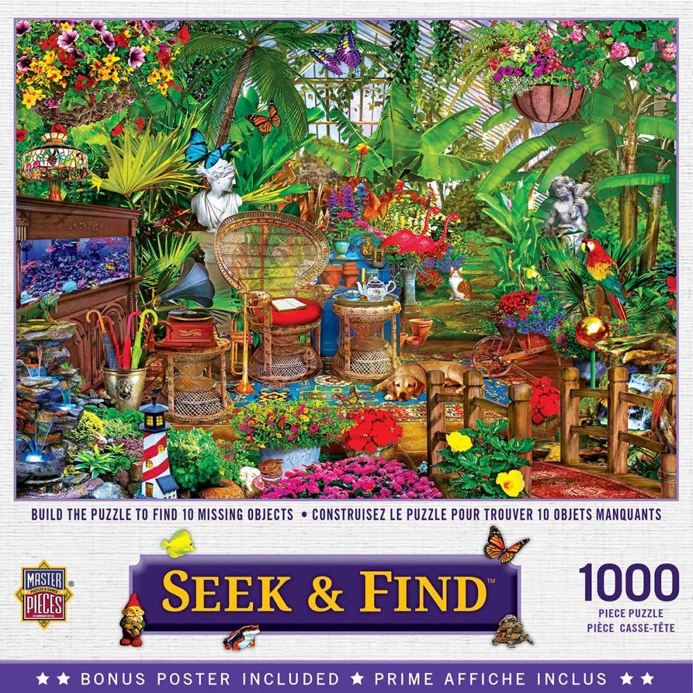 Best Garden Hideaway 1000pc Puzzle You Can Buy