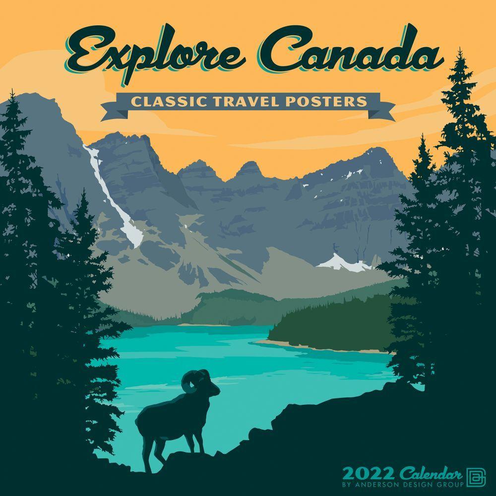 Explore Canada 2022 Wall Calendar