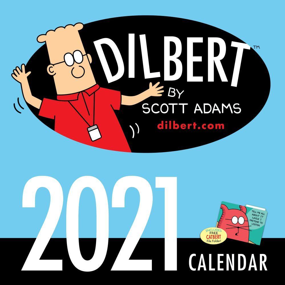 2021 Dilbert Wall Calendar