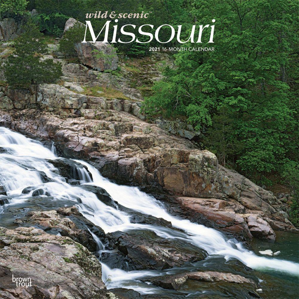 Missouri Wild & Scenic 2021 Wall Calendar