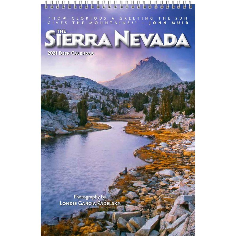 2021 Sierra Nevada Easel Calendar