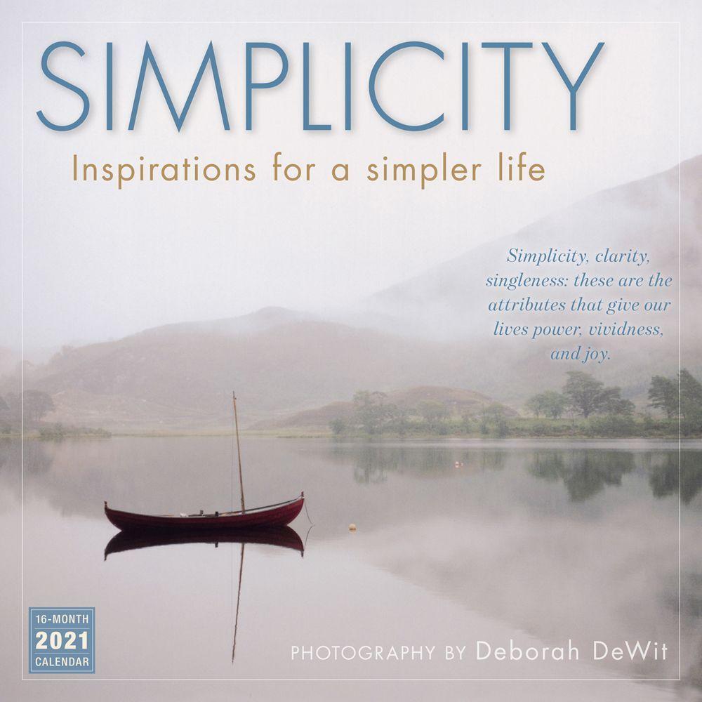 2021 Simplicity Wall Calendar