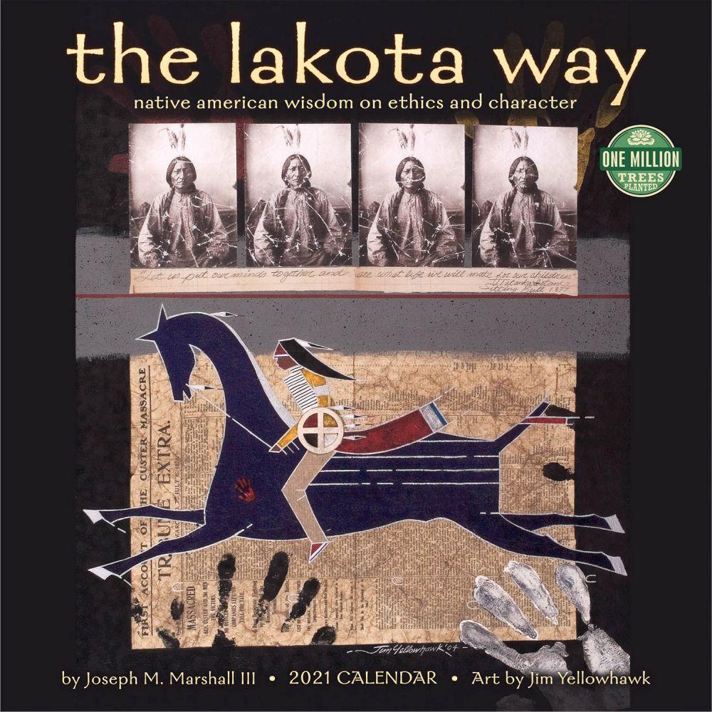 2021 Lakota Way Wall Calendar