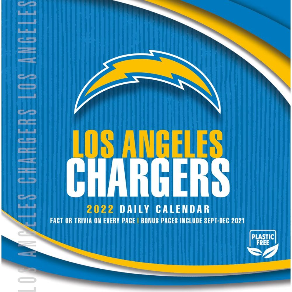 Los Angeles Chargers 2022 Desk Calendar