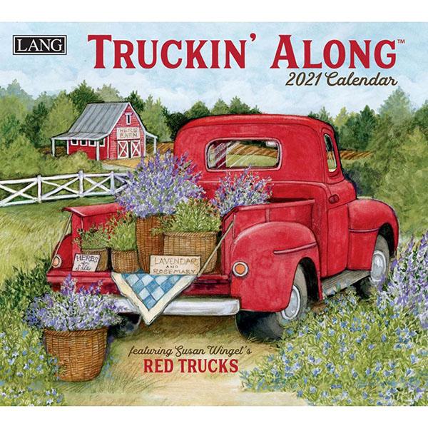 2021 Truckin'Along Wall Calendar by Susan Winget