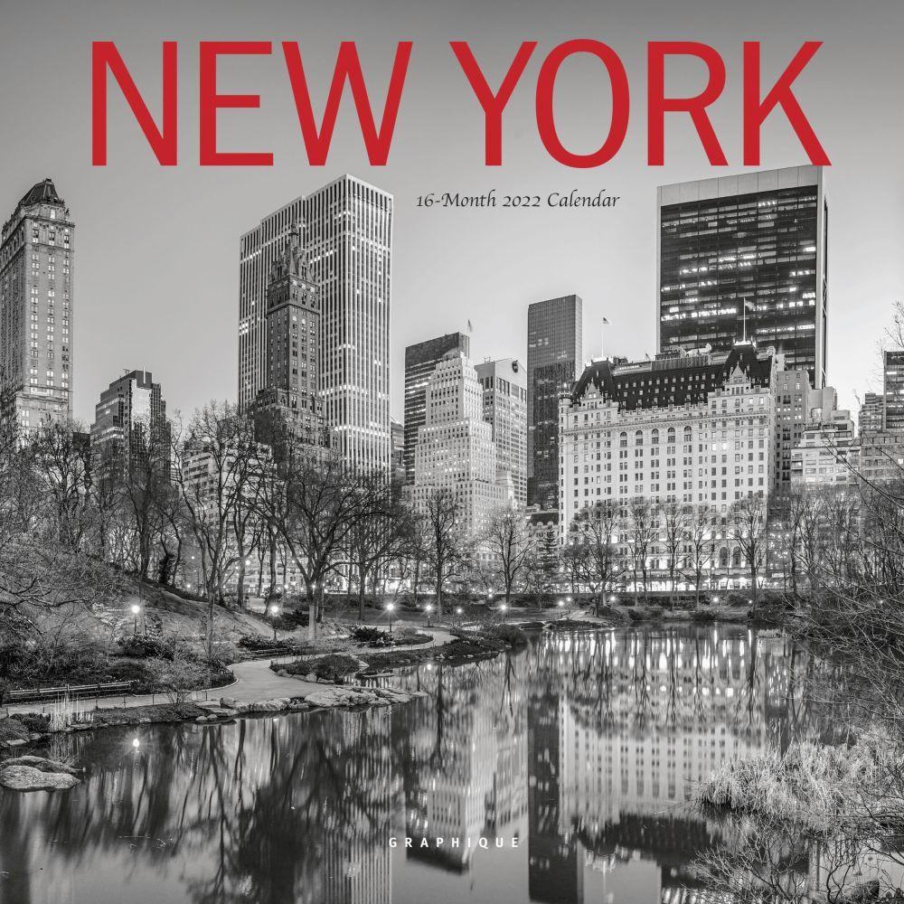 New York 2022 Mini Wall Calendar