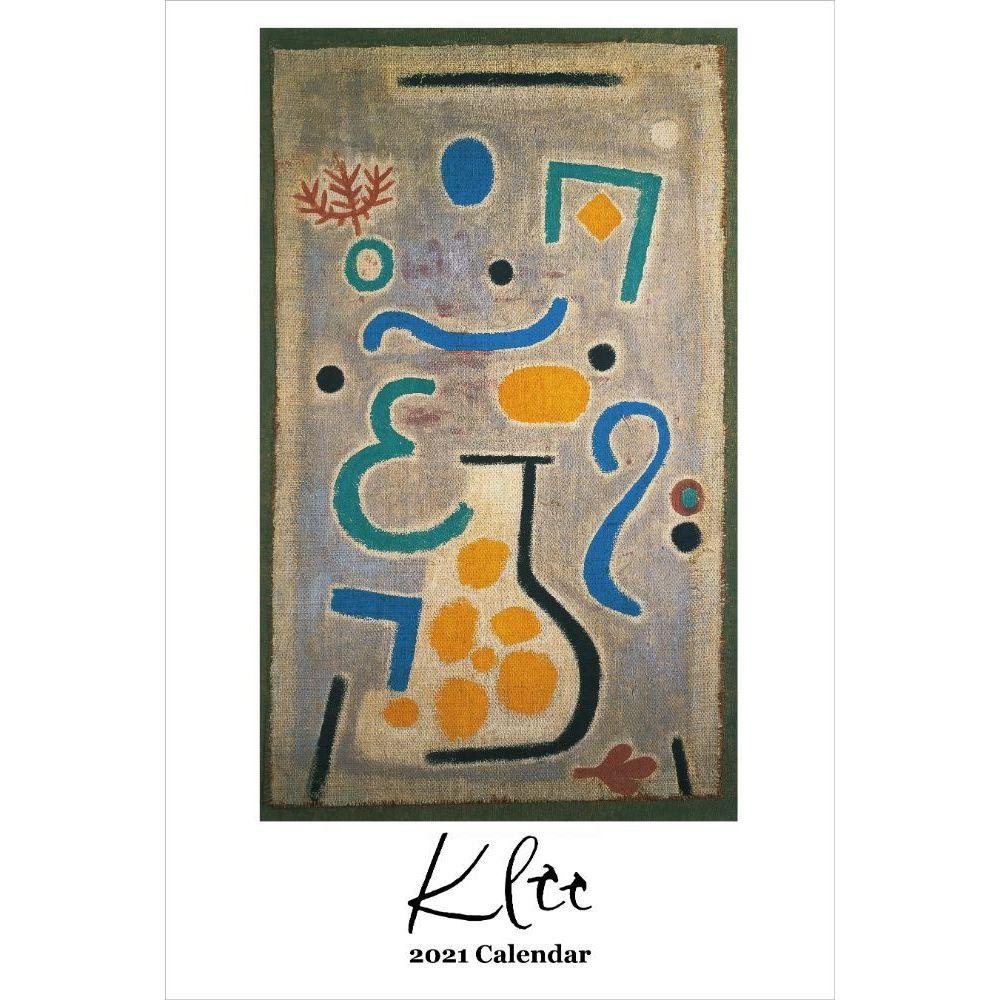 2021 Klee Poster Wall Calendar