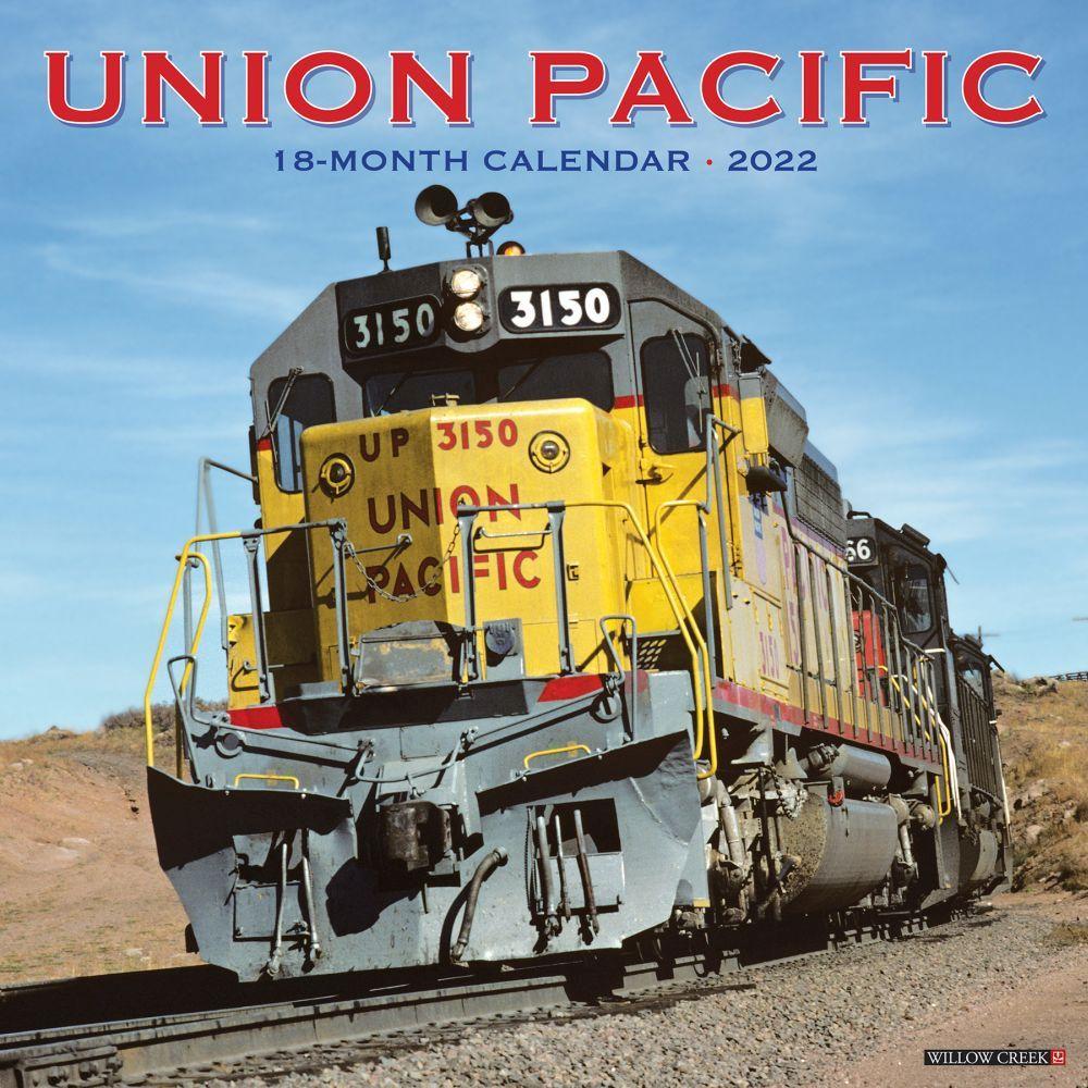 Union Pacific Railroad 2022 Wall Calendar